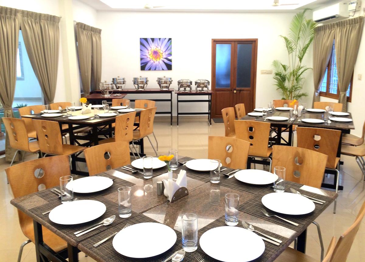 Dining LaGrace Integral Retreat